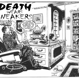 Death wears sneakers by Big Bang
