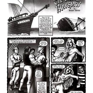 The Trothy Bowsprit by Brian Tarsis