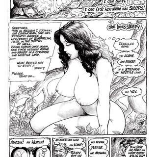 Cavewoman Jungle Tales by Bud Root