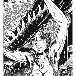 Cavewoman Rain 3 by Bud Root