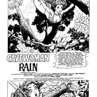 Cavewoman Rain 1 by Bud Root