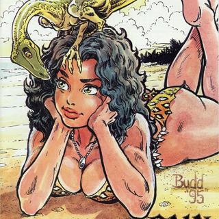 Cavewoman Rain 1 by Bud Root