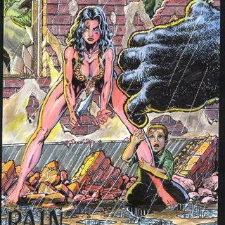 Cavewoman Rain 5 by Bud Root