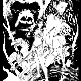 Cavewoman Jungle Jam 1 by Bud Root