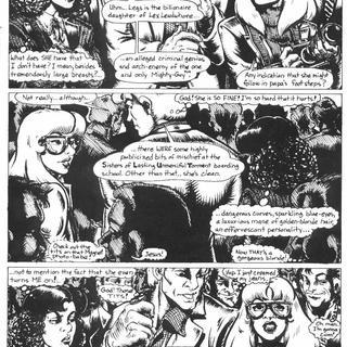 Blonde Avenger 1 by Butler