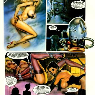 Captain Erotica by Buzz Dixon, Peter Hsu