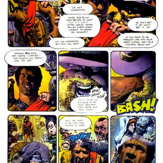 The Bodyssey by Corben