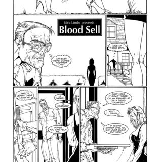 Blood Sell by David Pettigrew, Josh Hood