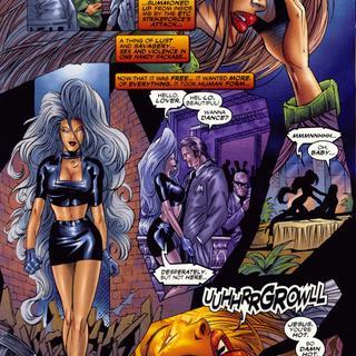 Lady Demon 1 by Dawid Brewer