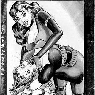 Cruel Mrs Tyrants bondage school by Eric Stanton