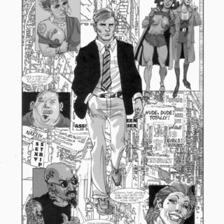 Strip Search by Ernie Colon