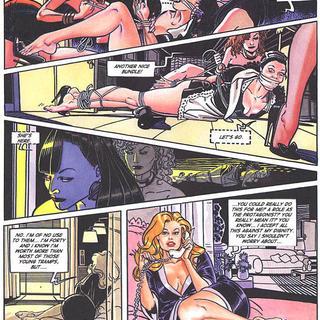 Blonde - Bondage Palace 1 by Franco Saudelli