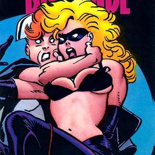 Blonde porno Comics