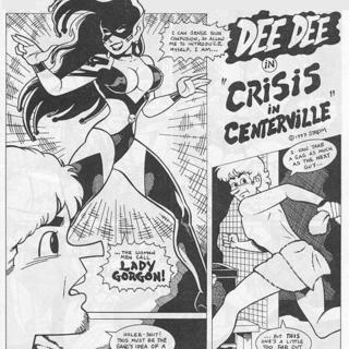 Dee Dee - Crisis by Frank Strom