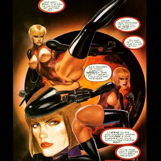 Backlash 5 Heroine by George Caragonne, Mark Beachum