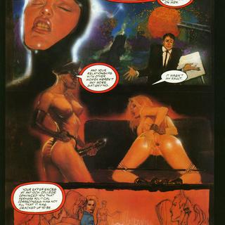 Backlash 3 Madame W's School for Girls by George Caragonne, Mark Beachum