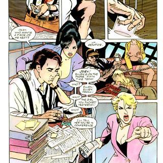 Aventure porno Comics