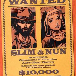Slim and Nun by George Caragonne