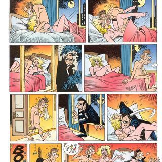 Porn cartoon strips