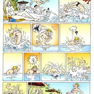 cartoons having hot sex - Hot Cartoons by Gurcan Gursel