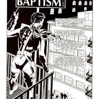 The Head Hunter in Baptism 1 by Gustavo Pabon, Adam Dekraker