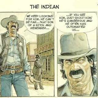 The Indian by Horacio Altuna