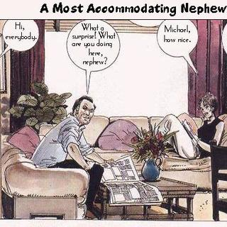 A most accommodating nephew by Horacio Altuna