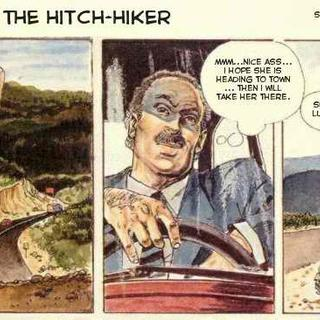 The Hitch hiker by Horacio Altuna