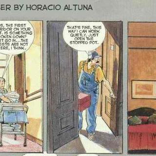 Hotel plumber by Horacio Altuna