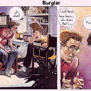 Burglar by Horacio Altuna