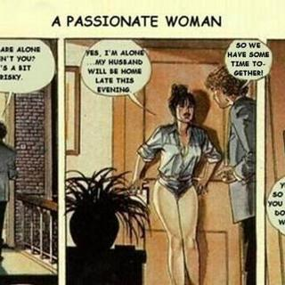 A passionate woman by Horacio Altuna