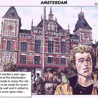 Amsterdam by Horacio Altuna