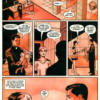 Thou Shalt not Take the Lords Name in Vein by Howard Chaykin, David Tischman, David Hahn