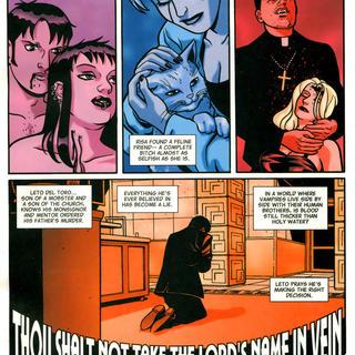 Thou Shalt not Take the Lords Name in Vein by Howard Chaykin, David Tischman, David Hahn