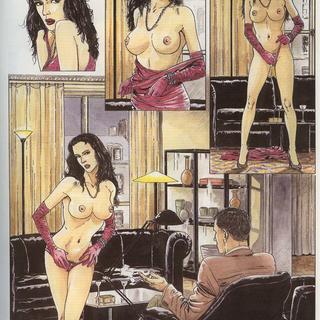 European porn comics