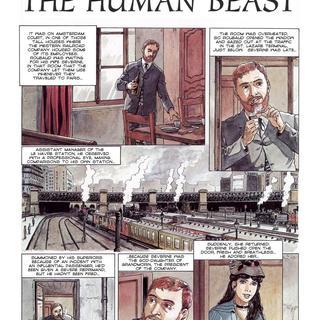 The Human Beast by Hugdebert