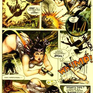 Spice Adventure of Bettie Page by Jim Silke