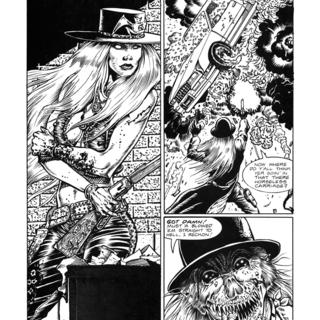 Gunfighters in Hell 5 by Joe Vigil