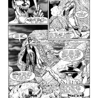 Gunfighters in Hell 4 by Joe Vigil