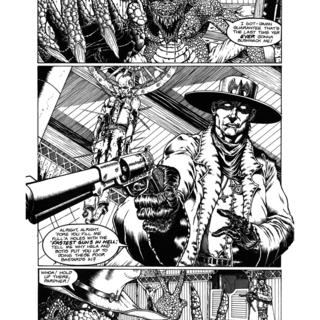 Gunfighters in Hell 2 by Joe Vigil
