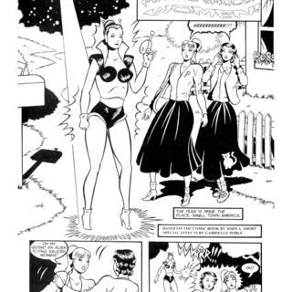 Invasion of the Flying Saucer Women by John Short, Gabrielle Noble