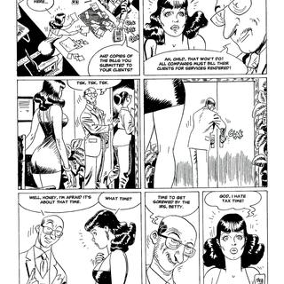 Betty By The Hour by Jordi Bernet, Carlos Trillo