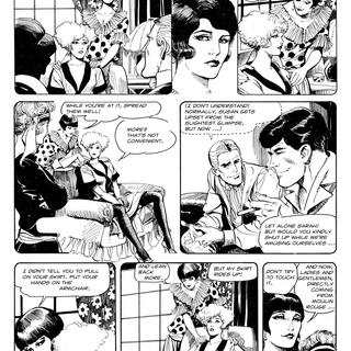The Arrival of Mona Street by Leone Frollo