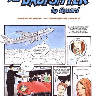 Babysitter porn comics