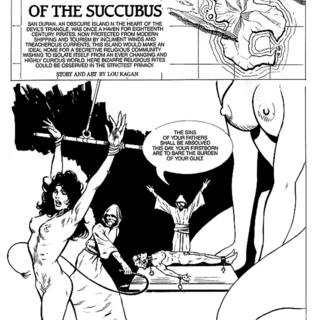 Jaws of the Succubus by Lou Kagan
