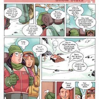 Co-Eds Snow Sluts by Man