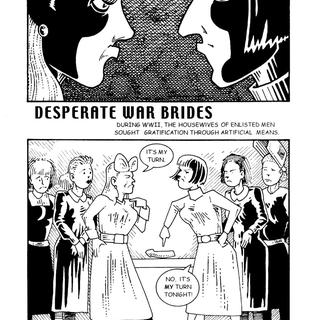 Desperate War Brides by Matt Howarth