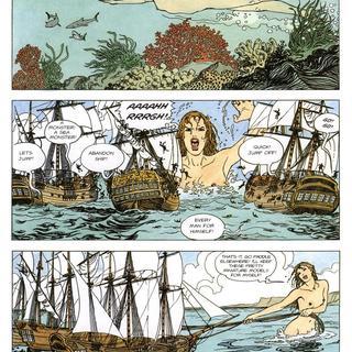 Gullivera by Milo Manara