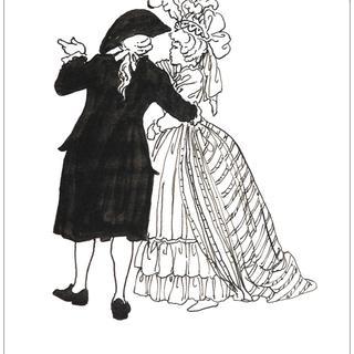 Mozart by Milo Manara