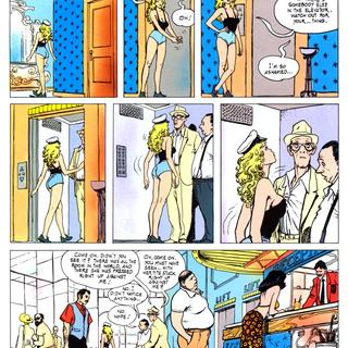 Butterscotch 1 by Milo Manara